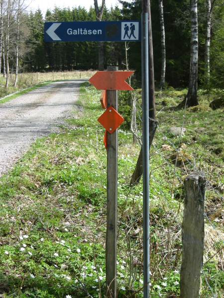 The road sign