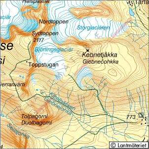 The Highpoint Of Sweden The Province Of Lappland And The County - Sweden map bd6