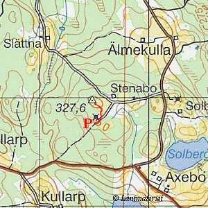 Topografisk karta östergötland