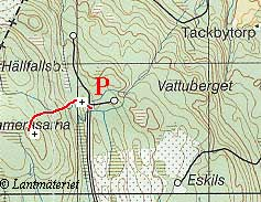 Topo map Timmeråsarna in Västmanland County